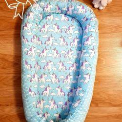 Шью на заказ Гнездышко кокон для новорожденного.
