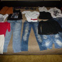 Фирменные брюки, джинсы, юбки на 9-14 лет
