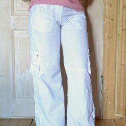 Λευκό παντελόνι Reebok