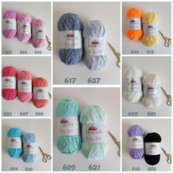 Baby soft plush yarn