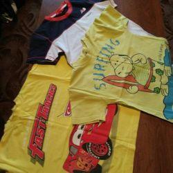 T-shirt pentru băieți (4-5 ani).