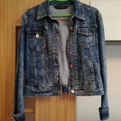 Denim jacket new 48