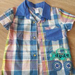 Shirt for a boy 98r 2-3g