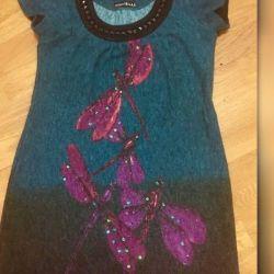 Ankorkovaya ipliği ile elbise