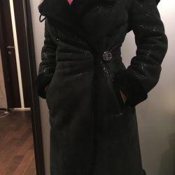 Chic Sheepskin Coat