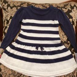 Children's dress for the girl teplenky