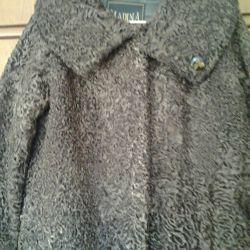 Γούνα παλτό karakul