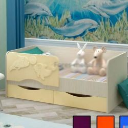 Pat pentru copii Dolphin