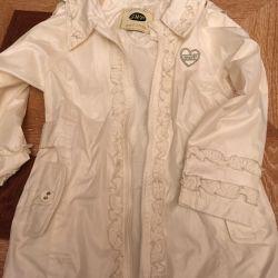 Windbreaker - raincoat thin with a hood