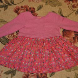 Mothercare sweatshirt dress, little used, 74 rr