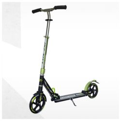 Scooter tech team 210lux black and green