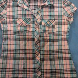 Рубашка девочке 48 размер