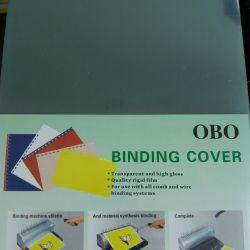 Cover for binding 100 sheet.