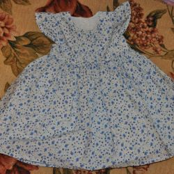 Mothercare dressy dresses, used 2 times, 74 р-р
