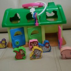 Educational toy sorter from 1 to 3 years