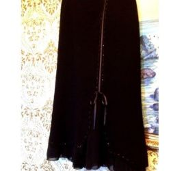Black skirt 46-48 size with brand labels