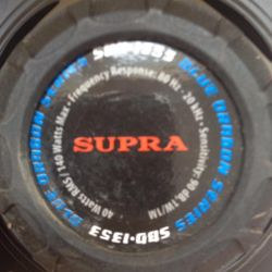 Speakers Supra 40 / 140watts max