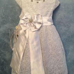 Dress with rim