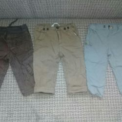 Trousers for boy p74.80.86