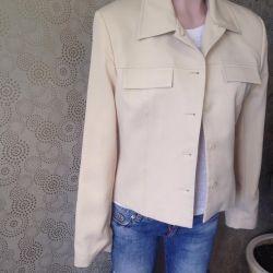 Молочный пиджак