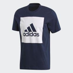 Orijinal ADIDAS Essentials Kutu Logo Tişört