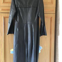 Δερμάτινο παλτό