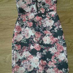 Bershka Bandeau Dress