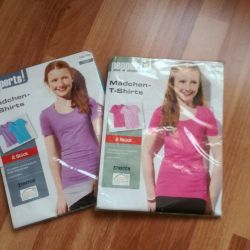 New T-shirts Set of 2 pieces Germany