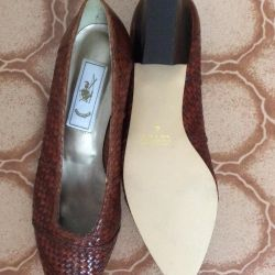 New Brazilian Leather Shoes 41