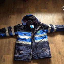 Warm jackets (overalls)