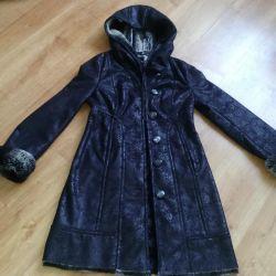 Yeni koyun derisi ceket