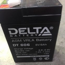 Traction Battery DELTA 606 6V 6 Ah