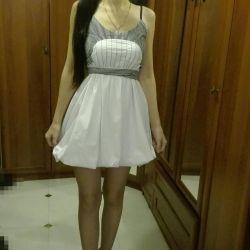 Elegant dress (cotton, Turkey)