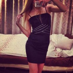 Little black dress for the holiday