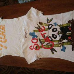 Tricouri pentru o fată (8-9 ani)