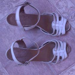 sandals genuine leather