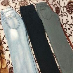 Gençler için kot pantolon
