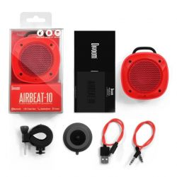 Divoom Airbeat-10 Taşınabilir Bluetooth Hoparlör kırmızı
