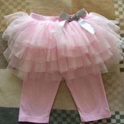 Tights with a skirt from 2-4 years