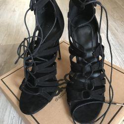Lace-up sandals ?
