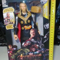 A set of heroes Avengers.