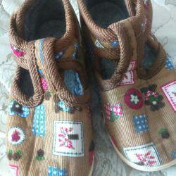 Домашние туфельки-тапки НОВЫЕ