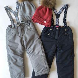 New winter warm pants
