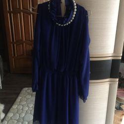 Όμορφο μπλε φόρεμα