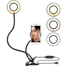 Selfie ring with holder and backlight new