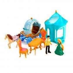Carriage set with a princess