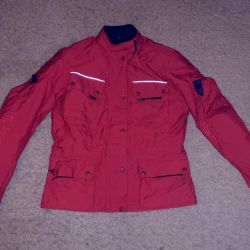 Women's motorcycle jacket and leather pants. Bargain