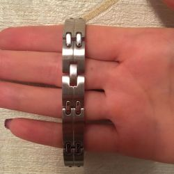 New men's titanium bracelet