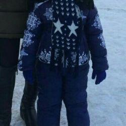 Kış çocuk takım elbise + yelek