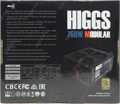 Güç kaynağı AeroCool Higgs 750W Modüler